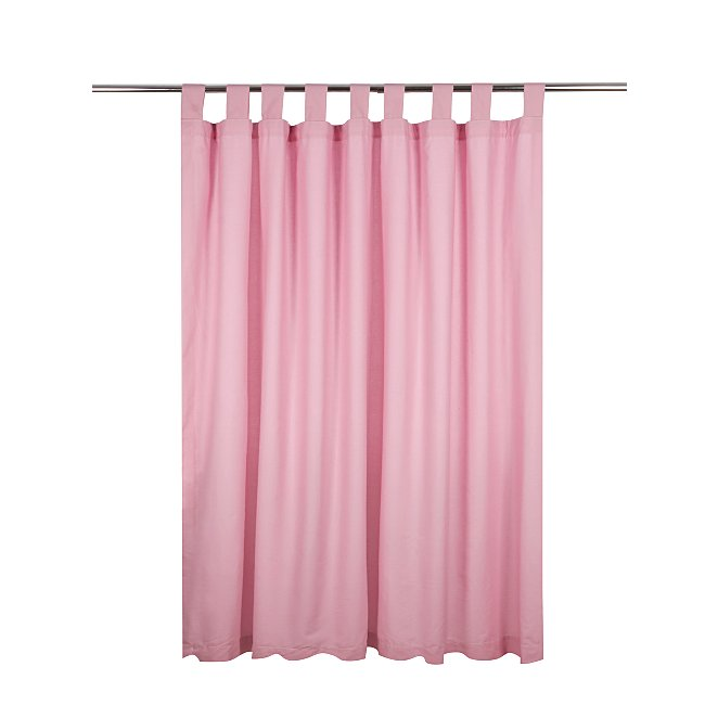 Kids Pale Pink Curtains 66x54in Home George