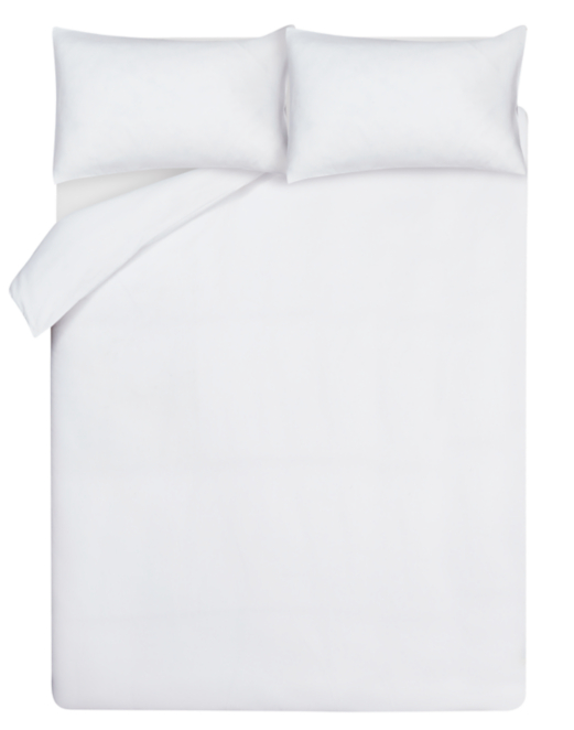 White 100 Cotton Waffle Duvet Cover Home Garden George