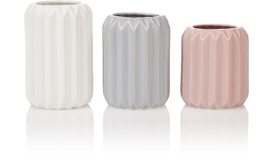 Origami Vases 3 Pack Home Garden George