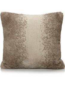 29bc479a56a Natural Faux Fur Mini Cushion