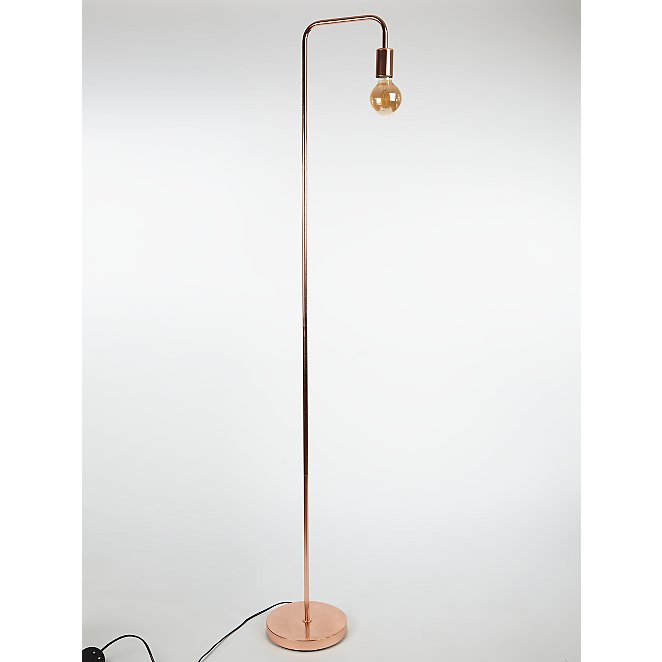 size 40 99732 f6273 Copper Edison Bulb Floor Lamp