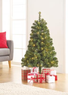 4ft Pre Lit Christmas Tree