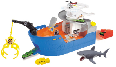 Shark Ship Playset