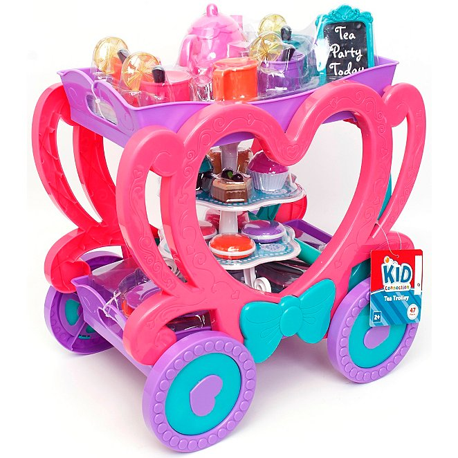 Superb Kid Connection Tea Set Trolley Playset Download Free Architecture Designs Viewormadebymaigaardcom