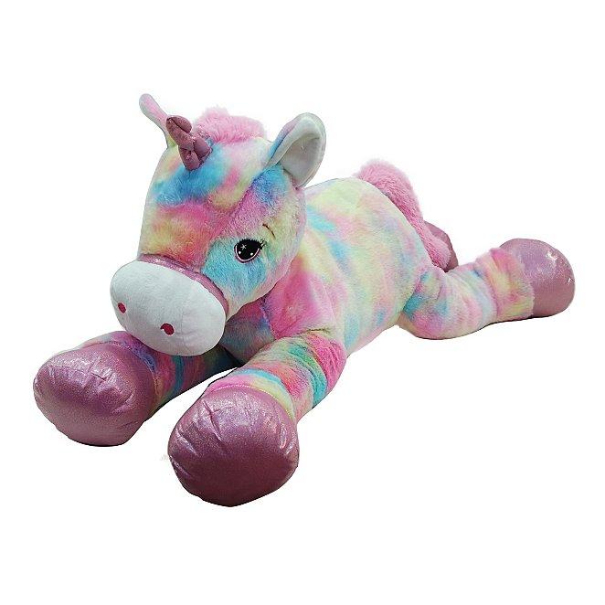 Kid Connection Giant Multi-coloured Unicorn Soft Toy. Reset 5252e0f91