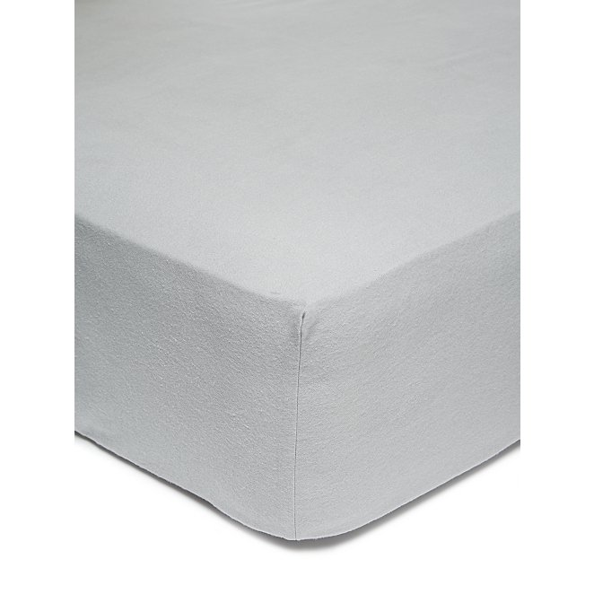 Flanlette 100/% Brushed Cosy warm Cotton Fitted Flat Sheet Extra Deep A Quality