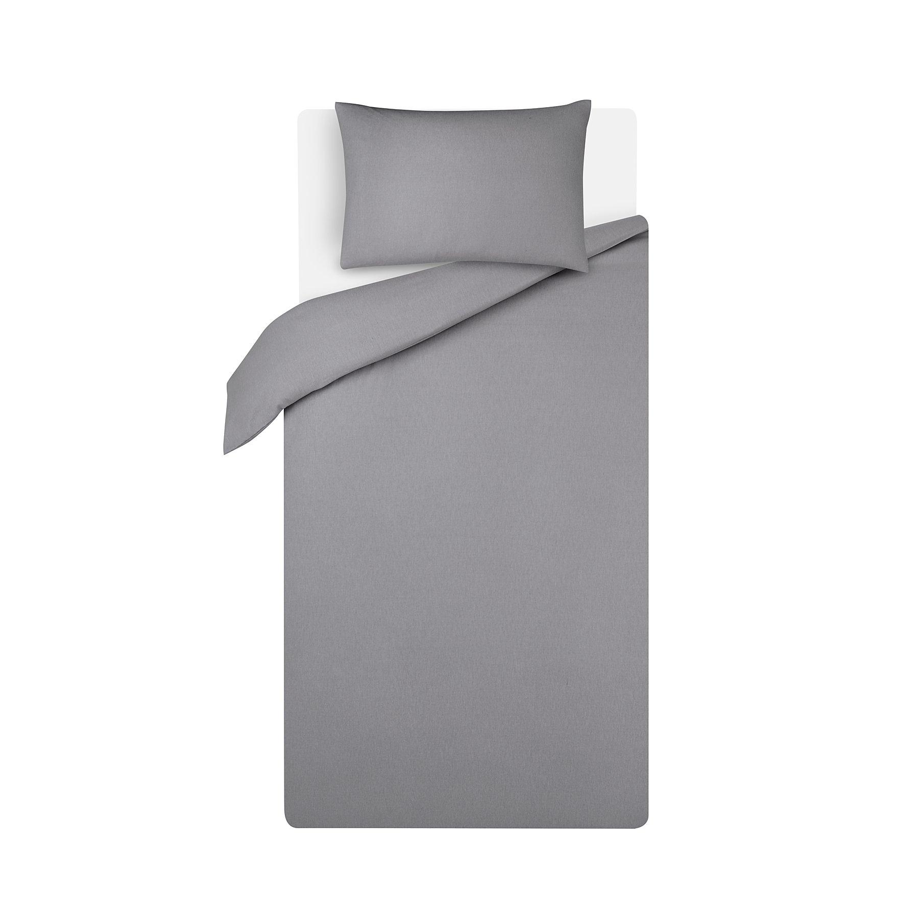 afd386012420 Grey Soft & Cosy Brushed Cotton Duvet Set   Home   George