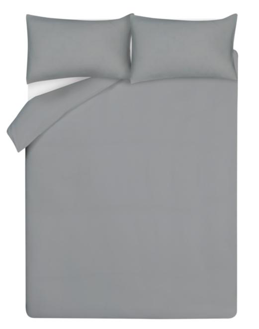 Grey 100 Cotton Waffle Duvet Cover Home Garden George
