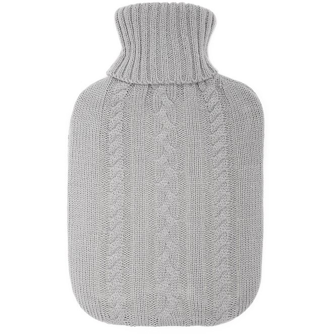 f5b44b56cb73 Hot Water Bottle with Knitted Cover