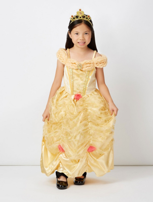 sc 1 st  George - Asda & Disney Princess Belle Fancy Dress Costume | Kids | George at ASDA