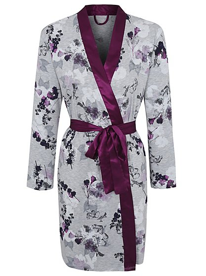 Floral Print Dressing Gown   Women   George at ASDA