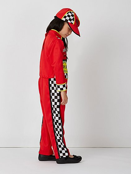 race car driver fancy dress costume kids george at asda