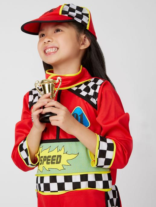 Race Car Driver Fancy Dress Costume Kids George At Asda