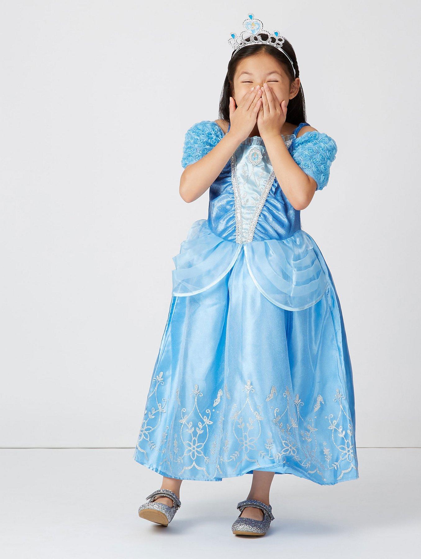 Disney Princess Cinderella Fancy Dress Costume   Kids   George at ASDA