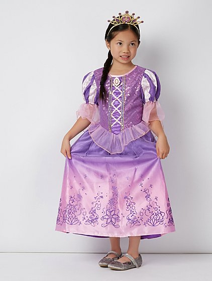 Disney Princess Rapunzel Fancy Dress Costume | Kids | George at ASDA