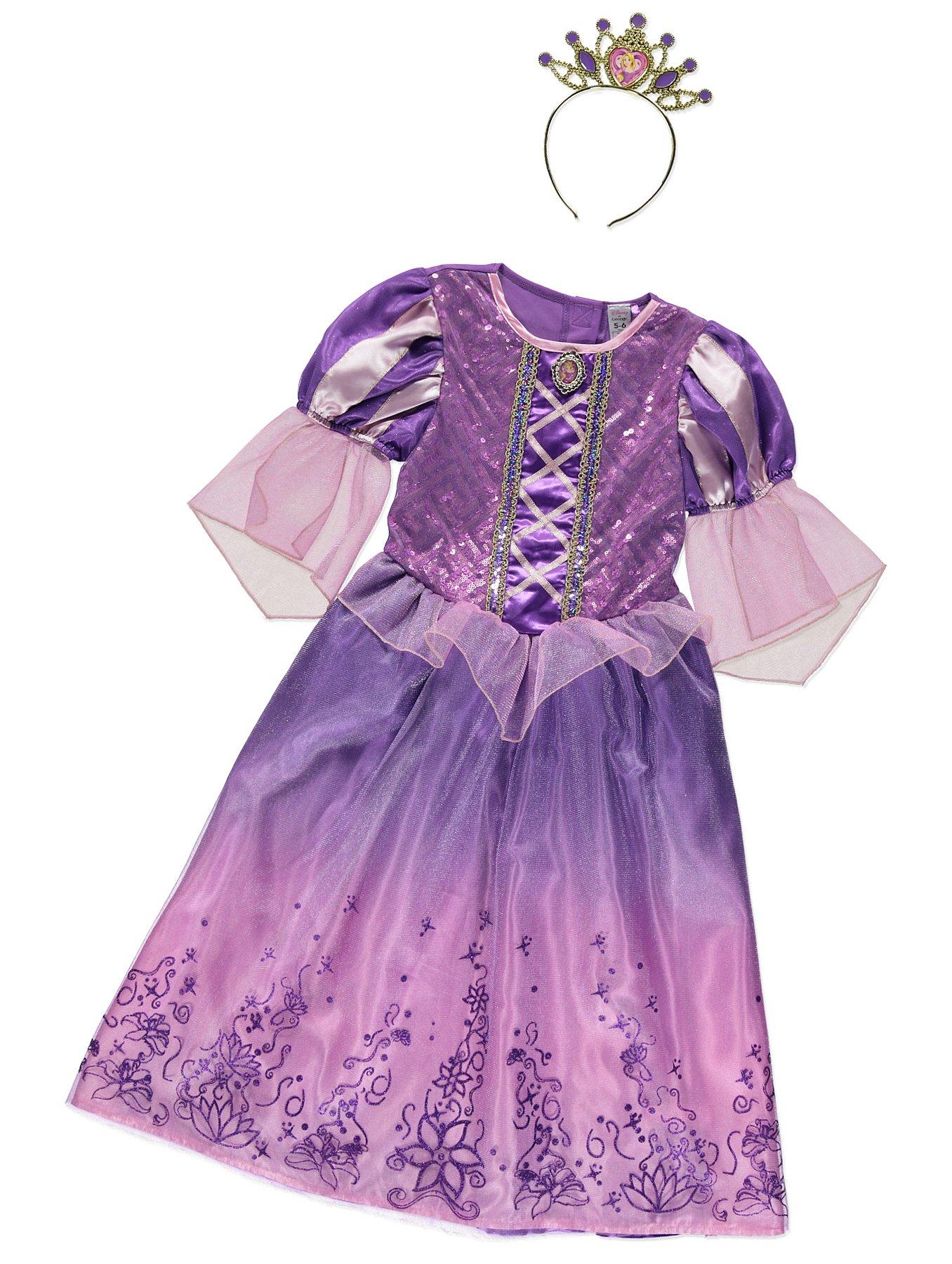 Disney Princess Rapunzel Fancy Dress Costume | Kids | George at ASDA