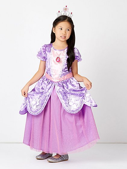 Disney Sofia the First Fancy Dress Costume | Kids | George at ASDA