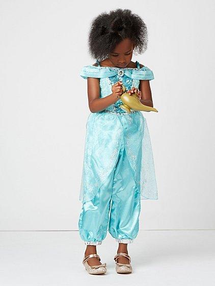 Disney Princess Jasmine Fancy Dress Costume Kids George