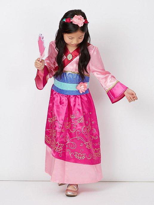 e93c4254c26 Disney Princess Mulan Fancy Dress Costume