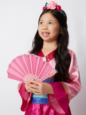 Disney Princess Mulan Fancy Dress Costume  sc 1 st  George - Asda.com & Disney Princess Mulan Fancy Dress Costume | Kids | George