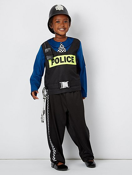 Police Officer Fancy Dress Costume | Kids | George at ASDA