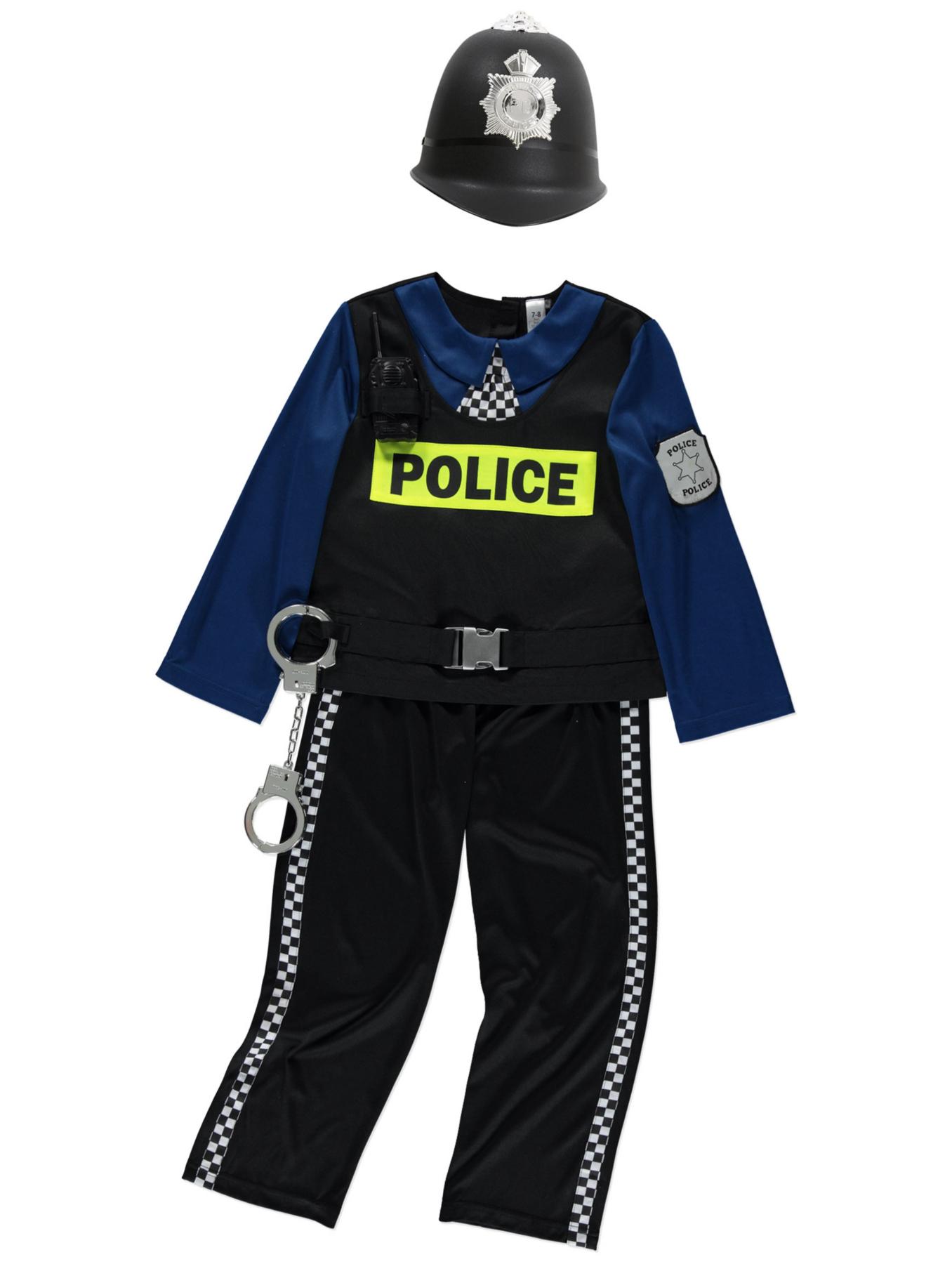 police officer fancy dress costume kids george at asda