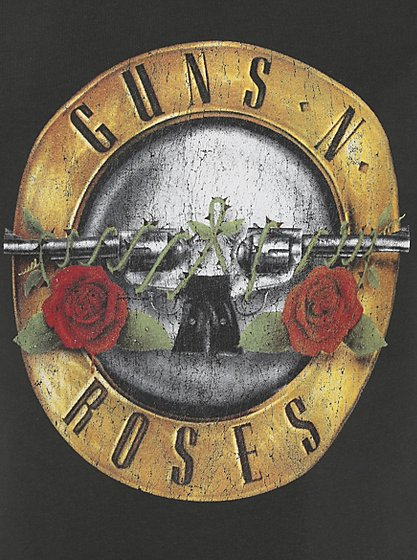 Guns N Roses T Shirt Men George At Asda
