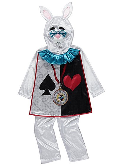 Disney Alice in Wonderland White Rabbit Costume | Kids ...