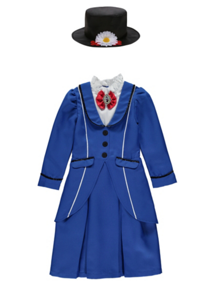 Disney Mary Poppins Fancy Dress Costume | Kids | George at ASDA
