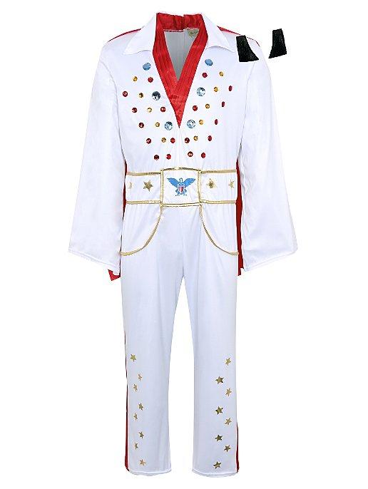 Adult Elvis Fancy Dress Costume   Men   George at ASDA c8a634f8ed49