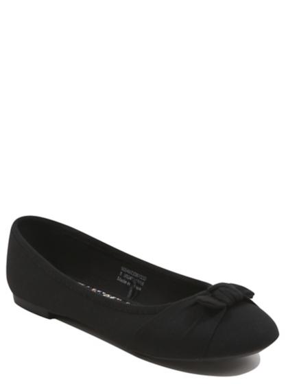 bow detail ballet shoes george at asda