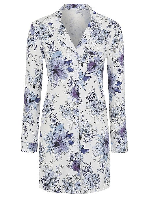 8245d3e7e1 Floral Shirt Nightdress. Reset