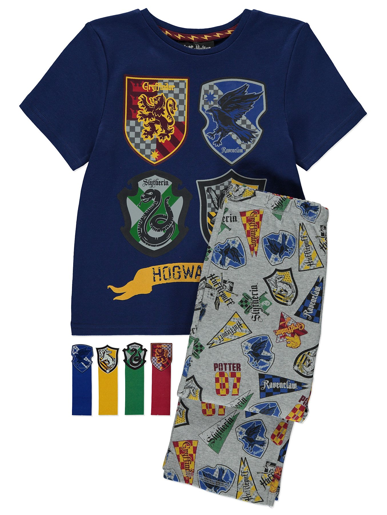 5d773a0109 Harry Potter Hogwarts Pyjamas with Bookmarks. Reset