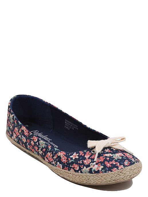 dfee1b01b8 Floral Print Canvas Shoes