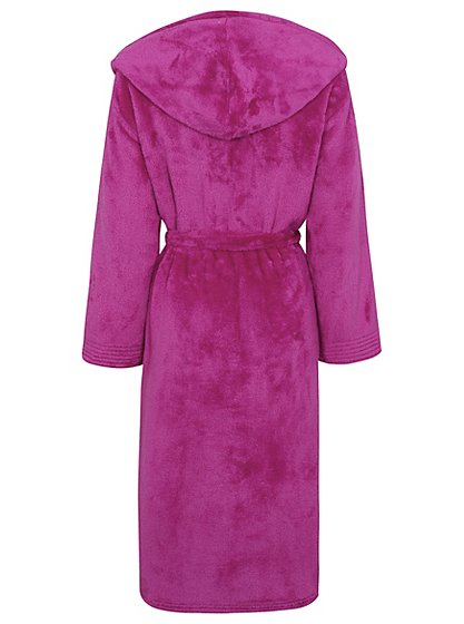 Supersoft Hooded Dressing Gown   Women   George at ASDA