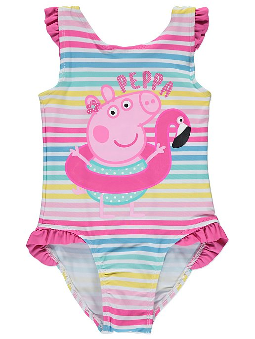 8d5549d67ea8f Peppa Pig Striped Swimsuit. Reset