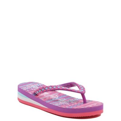 George Printed Flip Flops - Pink.
