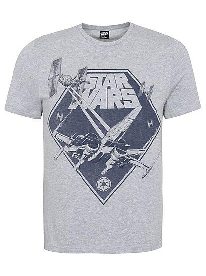 star wars graphic t shirt men george at asda. Black Bedroom Furniture Sets. Home Design Ideas