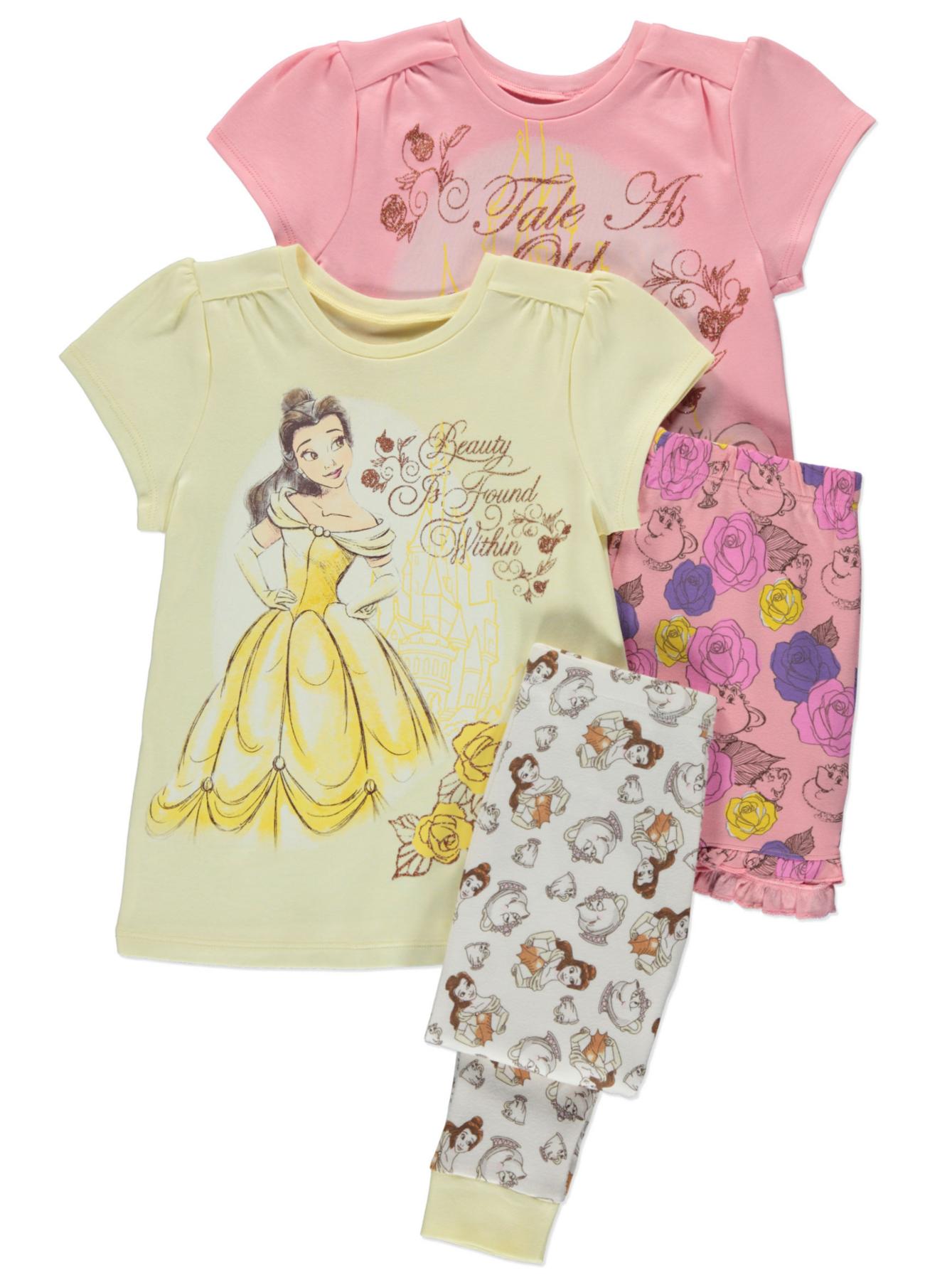 Disney Princess Belle 2 Pack Pyjamas Kids