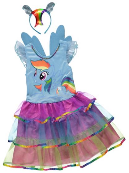 my pony rainbow dash fancy dress costume