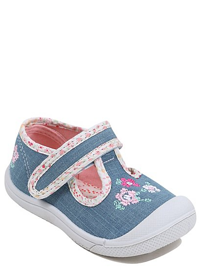 First Walkers Denim Shoes