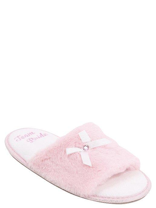 1a8b351434fe Fluffy Team Bride Slippers. Reset