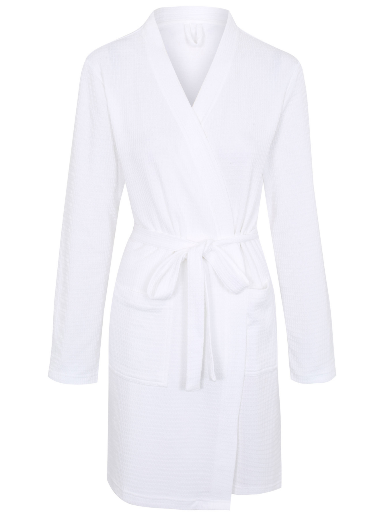 Waffle Textured Dressing Gown Women George