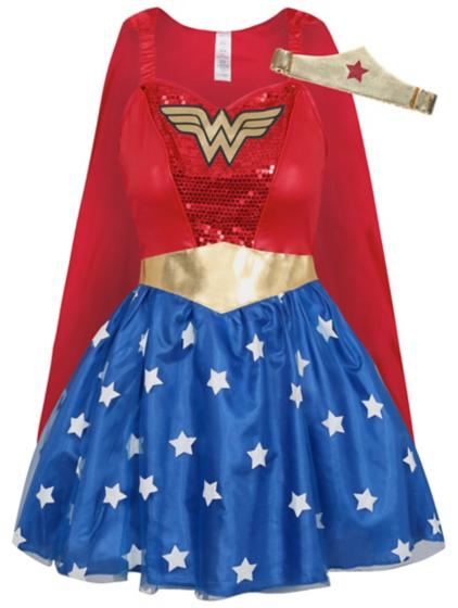 Adult Wonder Woman Fancy Dress Costume | Women | George