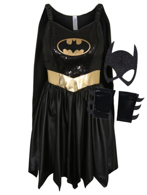 sc 1 st  George - Asda & Adult DC Comics Batgirl Fancy Dress Costume | Women | George