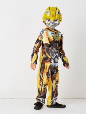 Yellow Transformers Bumblebee Fancy Dress Costume
