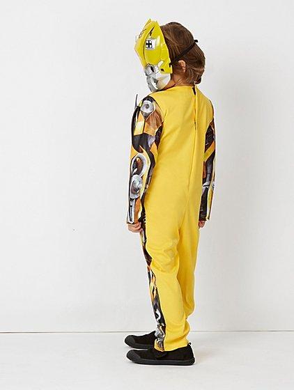 Yellow Transformers Bumblebee Fancy Dress Costume | Kids | George