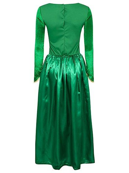 Adult Princess Fiona Shrek Fancy Dress Costume Women