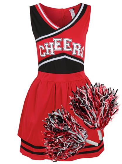 Cheerleader Fancy Dress Costume | Women | George