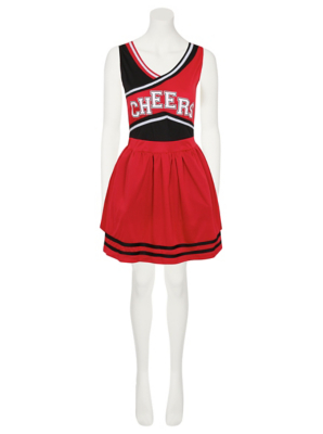 sc 1 st  George - Asda & Adult Cheerleader Fancy Dress Costume | Women | George